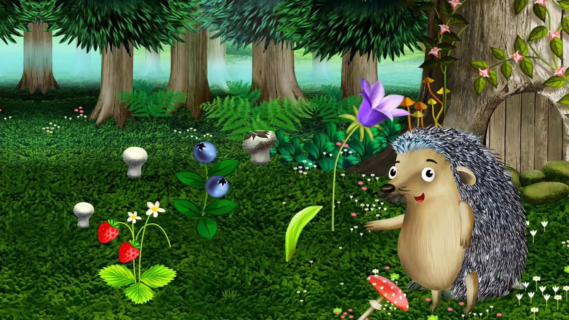 Animals game - Children Explore Tree - Dwelling Animals & Learn How Animals Get Food