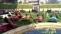 Online Car Meet In GTA 5 - Infernus Vs Infernus Classic