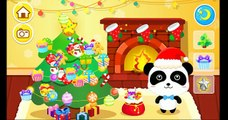 Baby Panda Merry Christmas | Party on Christmas Eve : Food, Persent | Babybus Kids Games