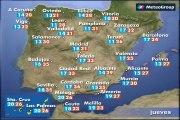 Previsión del tiempo para este jueves 1 de junio