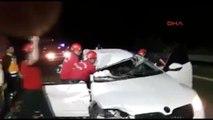 Şanlıurfa - Tır Ile Çarpışan Otomobilde 1 Ölü, 1 Yaralı