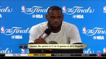 【NBA】LeBron James Interview #2 Media Availability May 31 2017 Game 1 2017 NBA Finals