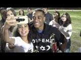 boxing fans showing lil za loves after his win - EsNews Boxing