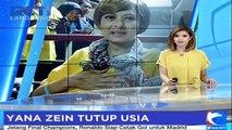 Aktris Yana Zein Tutup Usia Akibat Kanker Payudara