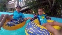 VLOG - Fun Aquatique au Congo River & VIOLENT ORAGE DE GRÊLE ! - Parc Aquatique Aqualand - 2_2