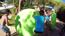 VLOG - SENSATIONS FORTES au PARC AQUATIQUE AQUALAND - Toboggans Aquatiques Fun