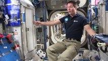 Thomas Pesquet nous fait visiter sa chambre à bord de la station spatiale internationale