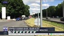 Paris: En pleine pénurie d'essence, il double tout le monde à la station-service