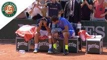 Roland-Garros 2017 : L'émouvante scène entre Del Potro et Almagro
