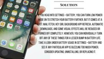 WOW!!! iphone 7 problem  POOR BATTERY LIFE ISSUES andLIGHTNING EARPODS STOP WORKING