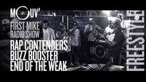 RAP CONTENDERS | END OF THE WEAK | BUZZ BOOSTER : Freestyles (Live @ Mouv' Studios) #FMRS