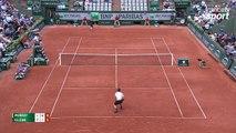 Roland-Garros 2017 : Un Andy Murray à ce niveau, c'est injouable (6-7, 6-2, 2-1)
