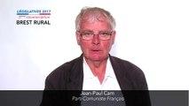 Législatives 2017. Jean-Paul Cam : 3e circonscription du Finistère (Brest rural)