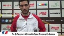 Emmanuel Lebesson éliminé en 32èmes de finale