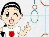 Cours de dessin manga : homme