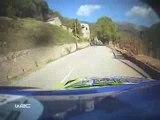 Mikko Hirvonen lost a wheel at Rally Corsica
