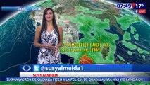 Susana Almeida Pronostico del Tiempo 1 de Junio de 2017