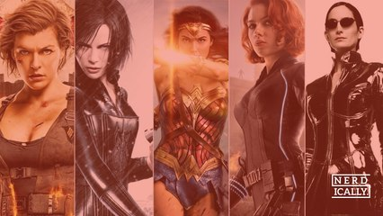 Who's your favourite super-powered warrior woman of cinema?