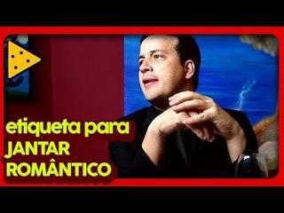 MANUAL PRÁTICO DE ETIQUETA EM JANTAR ROMÂNTICO | RAFA CORTEZ NO LOVE TRETA