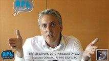 ELECTIONS LEGISLATIVES 2017 - Sébastien DENAJA - AGDE - SETE - 7° CIRCONSCRIPTION - RPH L'INDECAPANT