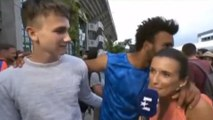 Tennis Player Tries to Kiss Reporter on Live TV, Gets BANNED from French Open