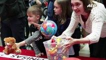 Les bébés lituaniens rivalisent à quatre pattes