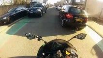 Kawasaki ninja 636 winter ride! (going 257 Km_h !)234234wer