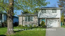 [Homes For Sale St Catharines] 8 Kimberdale Crt St. Catharines ON