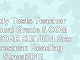 read  Weekly Tests Teachers Manual Grade 5 COMMON CORE EDITION Scott Foresman Reading df518bf3