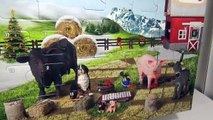 Avènement et animaux calendrier journée ferme cheval les chevaux Voir létablissement Schleich 3