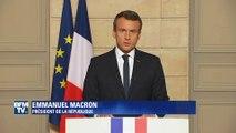 """Macron: """"Les États-Unis ont tourné le dos au monde, mais la France ne tournera pas le dos aux Américains"""""""