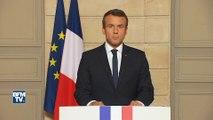 """""""Il n'y a pas de plan B car il n'y a pas de planète B"""". Macron appelle les autres signataires à """"ne rien céder"""""""