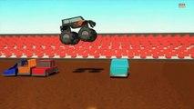 Monster truck _ Wheels on the monster trucks go round and round _ Nursery r
