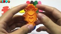 Playdough Modelling Clay with Aliens Collection Cookie Cutters Fun
