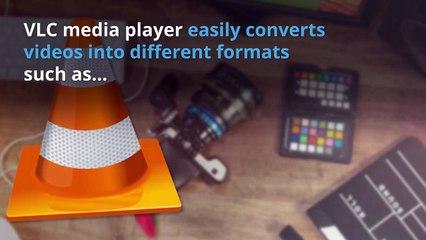 VLC Convert video tutorial