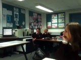 Funny French class Ysgol Eirias