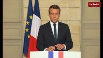 La réaction d'Emmanuel Macron au retrait des États-Unis de l'accord de Paris