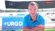 Solitaire Urgo - Le Figaro. Adrien Hardy : le retour !