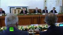 Путин- Россия не будет безвольно смотреть на продвижение НАТО к её границам