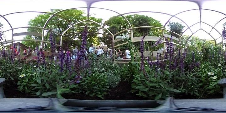 Visite à 360° de la serre à papillons de l'Ami des Jardins
