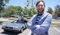 Il roule en DeLorean et se fait flasher à 88 miles à l'heure !