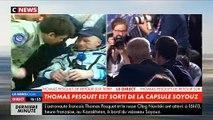 Regardez la conversation entre Emmanuel Macron et Thomas Pesquet juste après son retour sur Terre - VIDEO