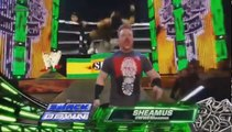 Mark Henry vs Sheamus Arm Wrestling WWE Smackdown May 3rd 2013