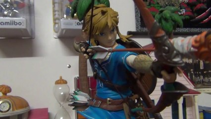 Unboxing Figurine Zelda breath of the wild édition limitée