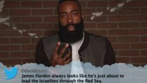 James Harden & DeAndre Jordan Read Mean Tweets