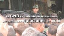 La GNB se defiende de acusaciones por presuntas violaciones de DD.HH
