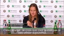 """Roland-Garros - Mladenovic : """"Je ne sais pas comment j'ai gagné ce match"""""""
