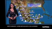 Mayte Carranco, la Miss Météo sexy qui met le feu au Mexique (vidéo)