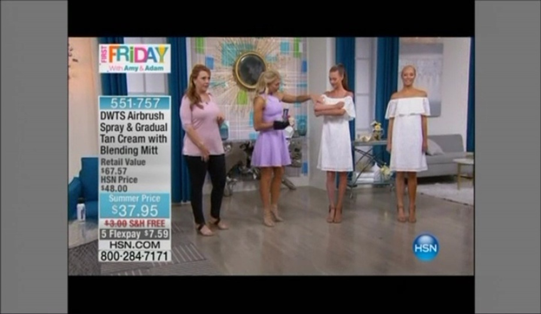 Emma Slater Dancing With The Stars Self Tan On Hsn