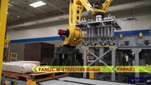 Robotic Palletizer Uses FANUC Robot & PalletTool Turbo for Rice Bales - Integrated Solutions